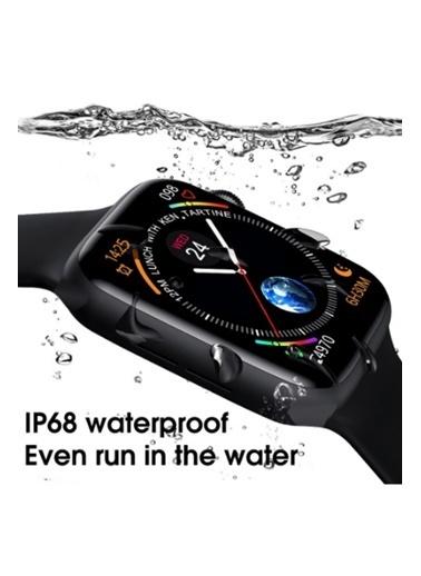 Jacobson Smart Watch 6 Akıllı Saat Tam Ekran Ateş Nabız Tansiyon Ölçer Suya Dayanıklı Beyaz